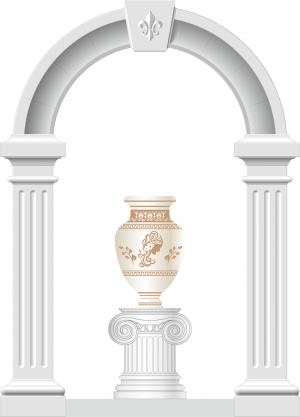 Декоративный элемент для лестничной клетки 03_0002_3