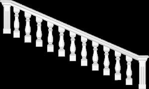 """Декоративный элемент на лестничный марш """" Балясины"""" 03_0002_9"""