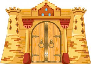 """Декорации для актового зала """"Замок"""" 04_0017"""
