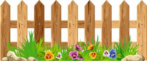 """Декорации для актового зала """"Забор"""" 04_0017_2"""