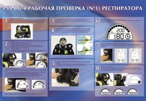 """Стенд """"PSS BG 4 рабочая проверка (№1) респиратора"""""""