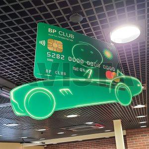 "Табличка подвесная ""BP-Club"""